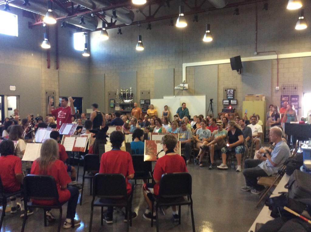 Coastal Music Camp 2015 1B